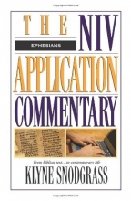 The NIV Application Commentary: Ephesians