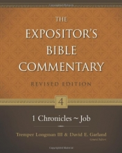 1 Chronicles--Job (Expositor's Bible Commentary, The)