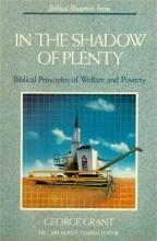 In the Shadow of Plenty: The Biblical Blueprint for Welfare (Biblical Blueprints Series)