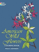 American Wild Flowers Coloring Book (Dover Nature Coloring Book)