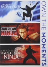 Rage of Honor / American Ninja / Revenge of The Ninja