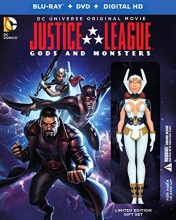 Justice League: Gods and Monsters  (BD/DVD/UV Combo) [Blu-ray]