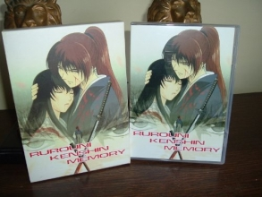 Rurouni Kenshin Memory Chapters 1-4 Anime 2 DVD set