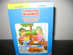 Fisher-Price Ready Reader Storybooks Preschool to Third Grade 10 book Box Set (hardcover)