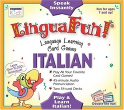LinguaFun! Italian: Language Learning Card Games (Linguafun! CD and Card Games) (Italian Edition)
