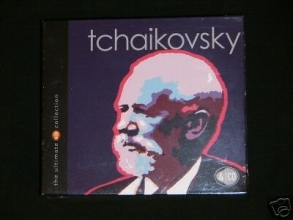 Tchaikovsky: The Ultimate Collection [4 Audio CD Set]