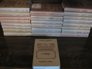 The Old Testament The Communicator's Commentary 23 Volume Set (Hardcover 1984-1994)