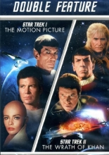 Star Trek I The Motion Picture / Star Trek II The Wrath of Khan DOUBLE FEATURE