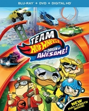 Team Hot Wheels: The Origin of Awesome! [Blu-ray]