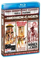 The Women in Cages Collection  (The Big Bird Cage / Big Doll House / Women in Cages) [Blu-ray]