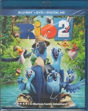 Rio 2 [Blu-Ray + DVD + Digital HD]