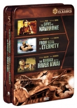 WWII Original Movie Classics: Box 2 (Tin) (The Guns of Navarone/From Here to Eternity/The Bridge on the River Kwai)