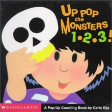 Up Pop the Monsters 1-2-3!: A Pop-Up Counting Book