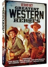 Greatest Western Heroes: John Wayne - Roy Rogers - The Lone Ranger - Kit Carson - Annie Oakley - Gabby Hayes - Cisco Kid - Angel and the Badman - McLintock! + many more!