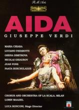 Verdi - Aida / Maazel, Chiara, Pavarotti, La Scala
