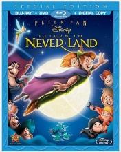 Peter Pan: Return to Never Land  (Blu-ray / DVD / Digital Copy)