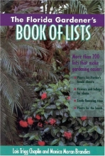 The Florida Gardener's Book of Lists (Book of Lists Series)