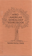 AFRO-AMERICAN GENEOLOGY SOURCEBOOK (Garland Reference Library of Social Science ; VOL. 321)