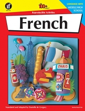 French, Grades 6 - 12 (The 100+ Series™)